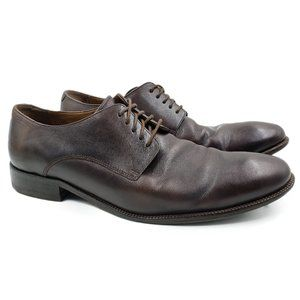 Cole Haan Brown Leather Oxford Dress Shoes